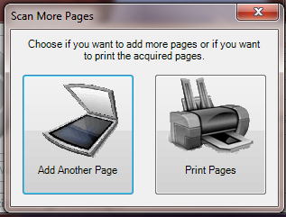 Add Multiple Pages to Scanned Document