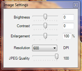 icopy Resolution Settings